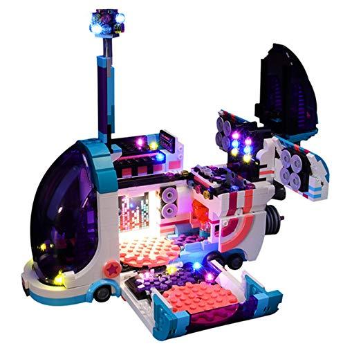 QZPM Led Beleuchtungsset Für Lego Pop-Up-Party-Bus, Kompatibel Mit Lego 70828 Bausteinen Modell - Ohne Lego Set