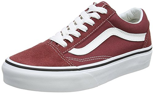 Vans Unisex-Erwachsene Old Skool Sneaker, Rot (Apple Butter/True White Q9s), 40 EU