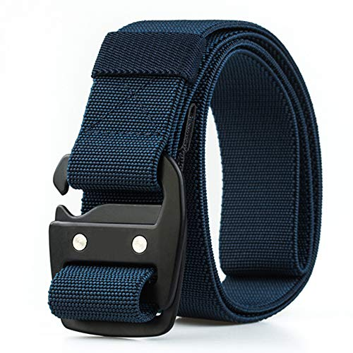 BETTA 1.5 Inch Wide Men/'s Elastic Stretch Belt with Adjustable Buckle