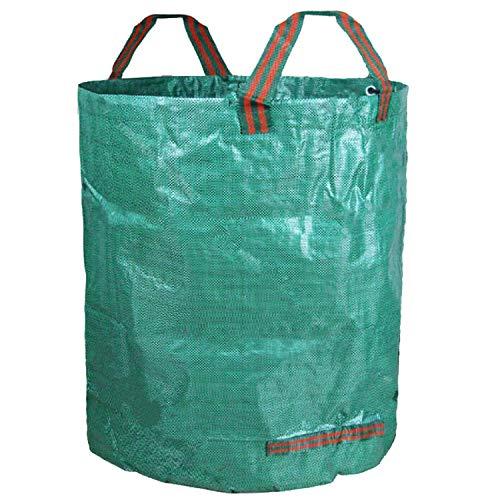 Strapazierfähiger Gartensack, 300 l Fassungsvermögen, 670 mm x 840 mm, verstärkt für Gartenabfälle/Kompost