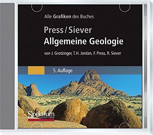 Allgemeine Geologie, CD-ROMDie Grafiken des Buches. Für Windows 98/98SE/98ME/NT 4.0 SP2/2000/XP/Vista und Mac OS 9/OS X