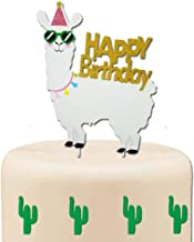 llama cake toppers