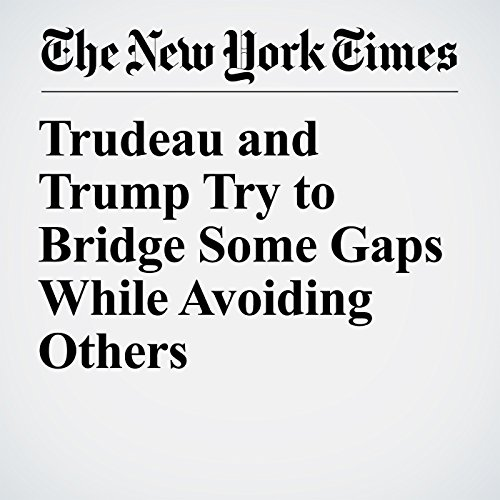 Trudeau and Trump Try to Bridge Some Gaps While Avoiding Others copertina