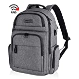KROSER Travel Laptop Backpack Stylish 15.6 Inch Computer Backpack with Hard Shell Saferoom