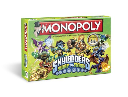 Winning Moves 43256 - Monopoly: Skylanders Swap Force
