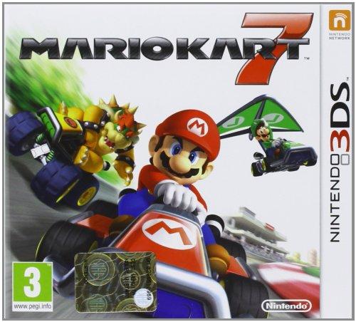 Nintendo Mario Kart 7, 3DS - Juego (3DS, Nintendo 3DS, Racing, E (para todos))