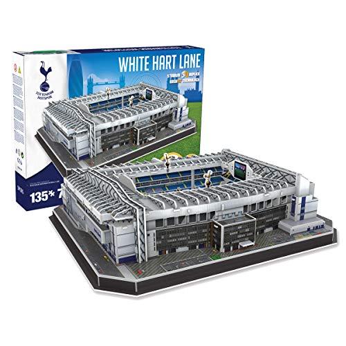 Paul Lamond puzzle in 3D dello stadio White Hart Lane del Tottenham Hotspur, colore: bianco