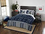 Officially Licensed NFL Dallas Cowboys Full Bed in a Bag Set, 78' x 86'