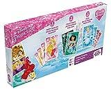 Shuffle- Tripack Princesas Disney Juego de Cartas, Multicolor (Cartamundi 108434902)