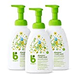 Babyganics Baby Shampoo + Body Wash Pump Bottle, Chamomile Verbena,...