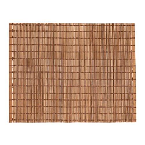 Ikea 503.438.59 Toga - Mantel Individual (Madera de bambú Natural, Tamaño: 35,5 x 45,7 cm)