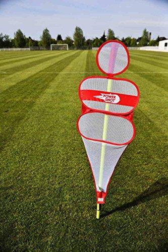 POWERSHOT The Soccer Wall - Fußball Trainings Puppe - Trainingsdummie