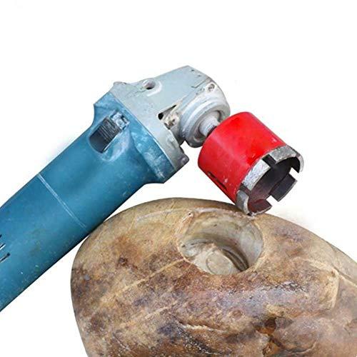 Landa tianrui Bricolaje y Herramientas 6mm-35mm M14 bits de perforación Orificio de perforación Cortador de Sierra para baldosas de mármol de Granito de Granito Molinillo de ángulo (Size : 16mm)