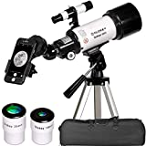 Best Telescopes - Telescope for Astronomy - Portable and Powerful 16x-120x Review