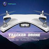 Kedelak W606-12 5G WiFi FPV 720P Drone Brushless Caméra Grand Angle GPS Positionnement Altitude Tenir RC Tracker Quadcopter