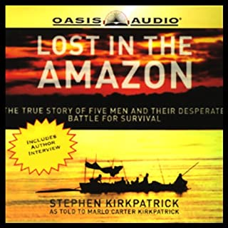 Lost in the Amazon audiobook cover art
