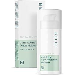 Marca Amazon - Belei Crema hidratante antiedad de noche