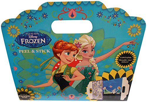 La Reine des Neiges - Fnpas1 - Disney - Autocollant Repositionnable sans Trace - Fever - Peel Et Stick