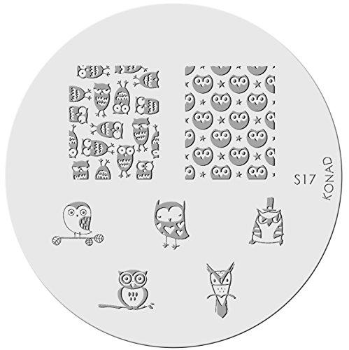 KONAD Stamping Schablone S17