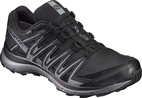 SALOMON Men's XA Lite Waterproof Trail Running Shoes (Black)