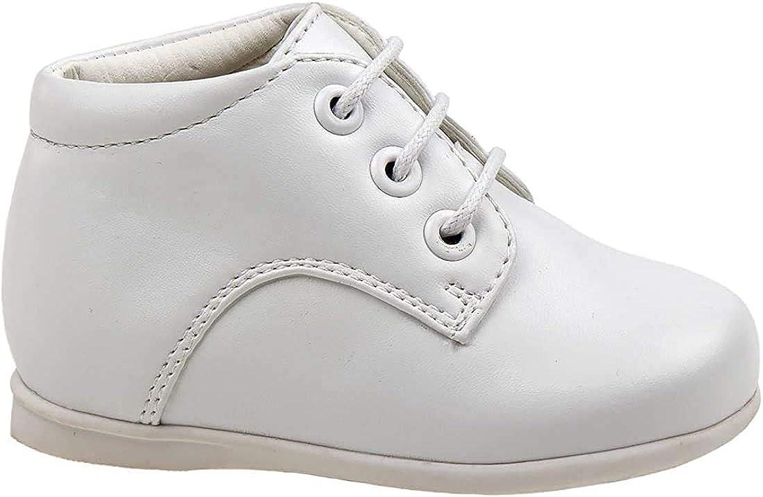 Josmo Baby Boy's First Steps Hi Top Walking Dress Shoe (Infant, Toddler)