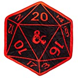 Bioworld Dungeons & Dragons D20 Shaped Throw Blanket