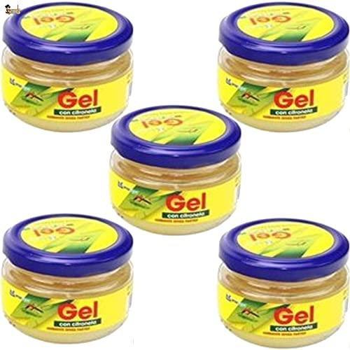BricoLoco Citronela Repelente antimosquitos. Ambientador. Más cómodo y Seguro Que Velas o aceites. Ahuyentar Mosquitos en Interior o Exterior. Protección Natural. Tarro Cristal. (5)