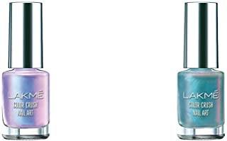Lakmé Color Crush Nailart, U4, 6ml & Lakmé Color Crush Nailart, U1, 6ml