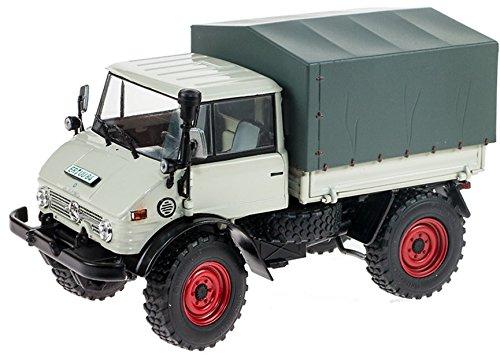 Weise-Toys 1044, Unimog 406U84 Lastwagenmodell in Ganzstahlausführung, Ausführung 1971–2016 mit Fahrerkabine