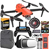 Autel Robotics EVO 2 Pro Drone Folding Quadcopter with 6K HDR Cinematic Video and Mapping EVO II Pro On The Go Extended Warranty Bundle with OLED Remote Control + FPV VR Pilot Headset + Software Kit