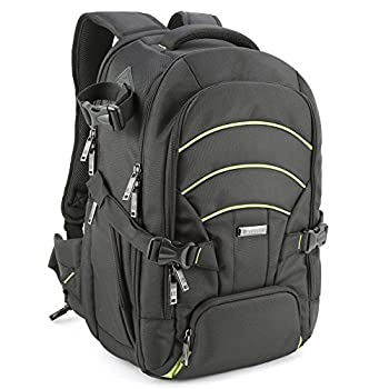 Evecase Large DSLR Camera/Laptop Travel Backpack Gadget Bag