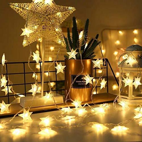 LED Stelle USB LED Luce catene Fairy String luci per Indoor & Outdoor Giardino, Natale, matrimonio decorazione, bianco caldo, 10M/33FT