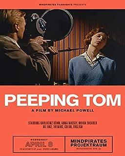 Erthstore 16x20 inch Fine Art Poster of Peeping Tom 1960 by Michael Powell German Artwork