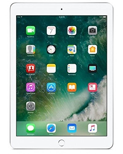 2018 Apple iPad 9.7in WiFi 32GB - Silver (Renewed)