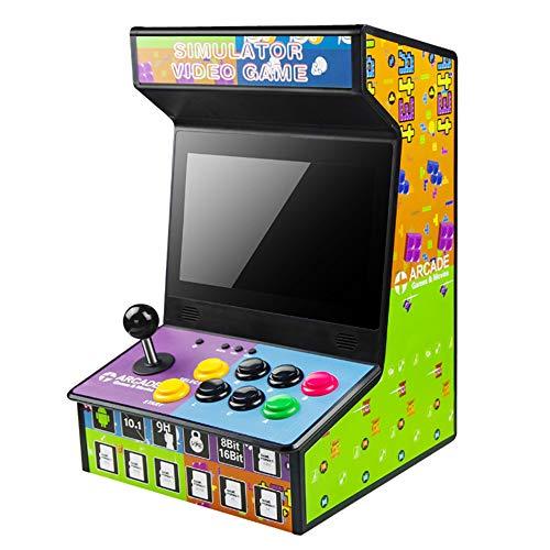 LSXX Arcade Jeux Console, Arcade Jeux vidéo Console, Jeux d'arcade Machines pour la Maison, 1280x720 Full HD, intégré IN1500 Jeux Classiques