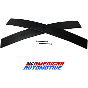"American Automotive 1.5""-2"" Rear Add-A-Leaf (Short) Carbon Suspension Leveling Lift Kit Load Capacity and Tow Package Upgrade"