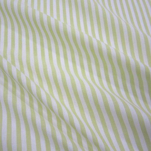 Tissu au mètre bauernstreifen clair rayée rideaux style maison de campagne blanc