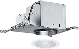 6-inch Recessed Lighting Kit with White Trim