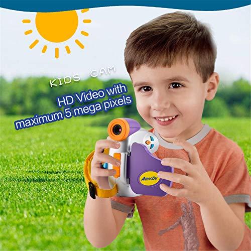 Babyfis digitale camera voor kinderen, 1080p, 1,44 inch, kleurrijke weergave, meervoudig kerstcadeau, mini-camera