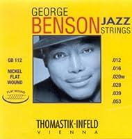 CUERDAS GUITARRA ELECTRICA - Thomastik (GB/112) George Benson (Juego Completo 012/053)