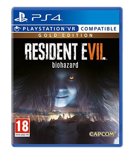 Resident Evil 7 Gold Edition ps4 Scatola Uk Gioco In Italiano