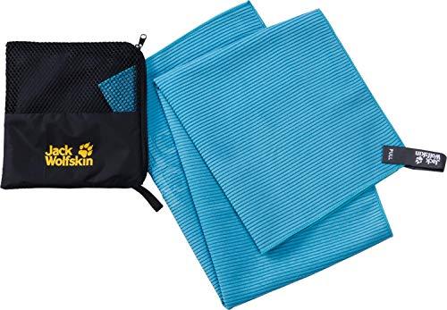 Jack Wolfskin Unisex– Erwachsene Barrier Towel Handtuch, Turquoise, ONE Size