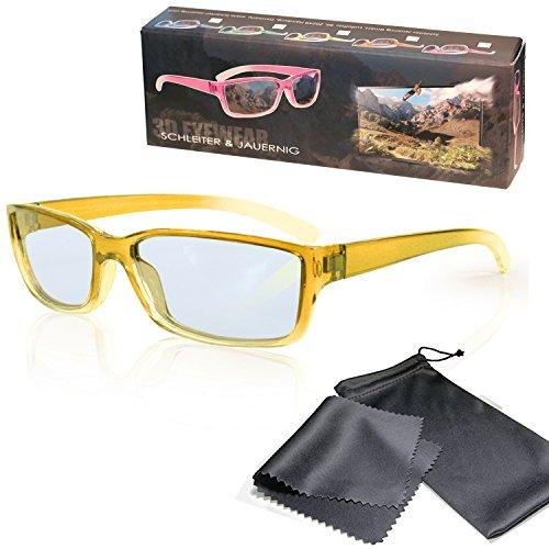 Gafas 3D para niños pasivo para RealD - Amarillo-transparente - Polarizadas circular...