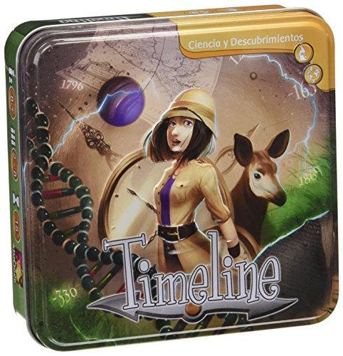 Timeline - Ciencia y Descubrimientos, Juego de Cartas  (TIM0
