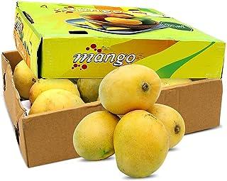 Mango Badami Fresh Mangos Mangoes | Premium Quality | Cleaned & Sanitized Before Dispatch | Ready to Eat | Good Source Vit...