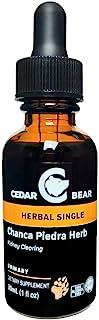 Cedar Bear Chanca Piedra Herb (Phyllanthus niruri) Liquid Herbal Supplement That Helps Clear Gallbladder and Kidneys, Supp...