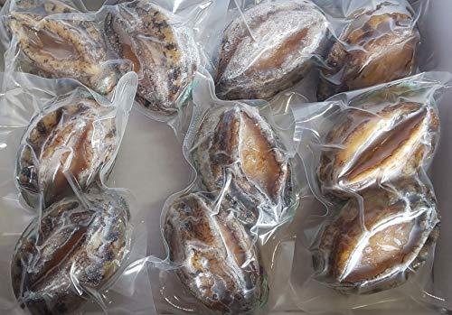 生食 冷凍 殻付 蝦夷 鮑 10個(個50gUP)x20P 業務用 冷凍 エゾ アワビ あわび