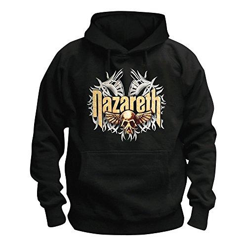 Nazareth - Flying Skull - Logo - Kapuzenpullover/Hoodie Größe XXL