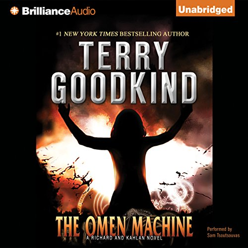 The Omen Machine audiobook cover art