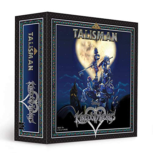 USAOPOLY Kingdom Hearts Talisman Competitive Board Game | Based on The Talisman Magical Quest Game | Official Kingdom Hearts Licensed Merchandise | Disney Kingdom Hearts 3 | KH3